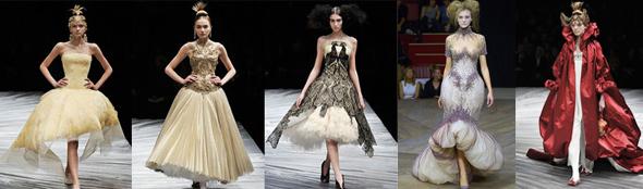 modely značky Alexander McQueen